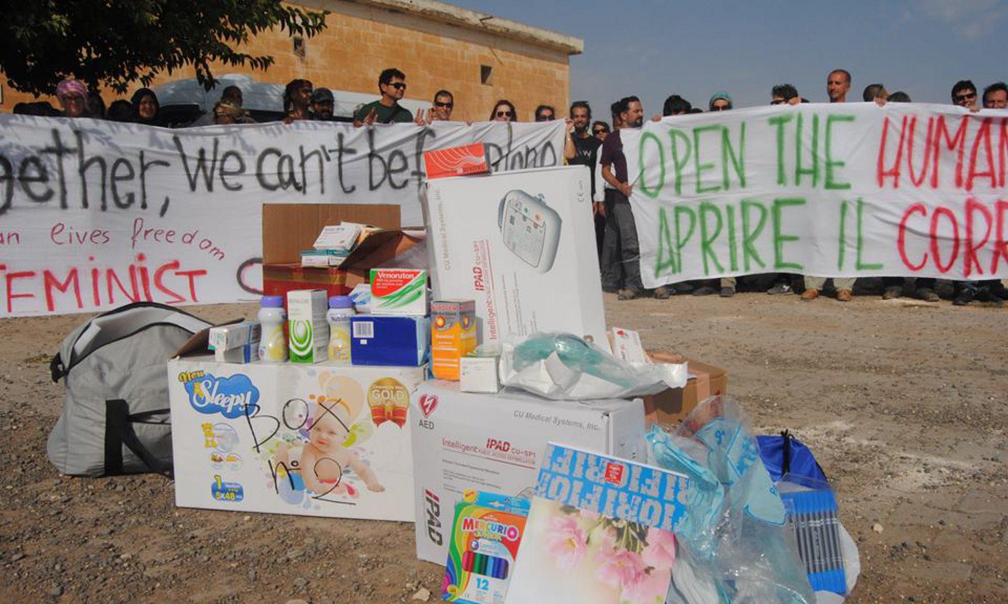 Staffetta sanitaria x il Rojava