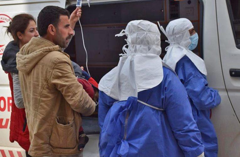 Una clinica di terapia intensiva costruita in Shehba per trattare i casi di Coronavirus