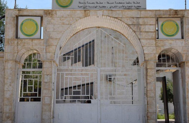La Health Academy, fondata nel 2017, diventa una facoltà collegata all'Università di Rojava