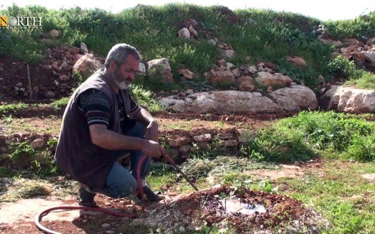"""Orchidee di tende"""": piccole aree alleviano la gravità dello sfollamento della popolazione sfollata di Afrin"""